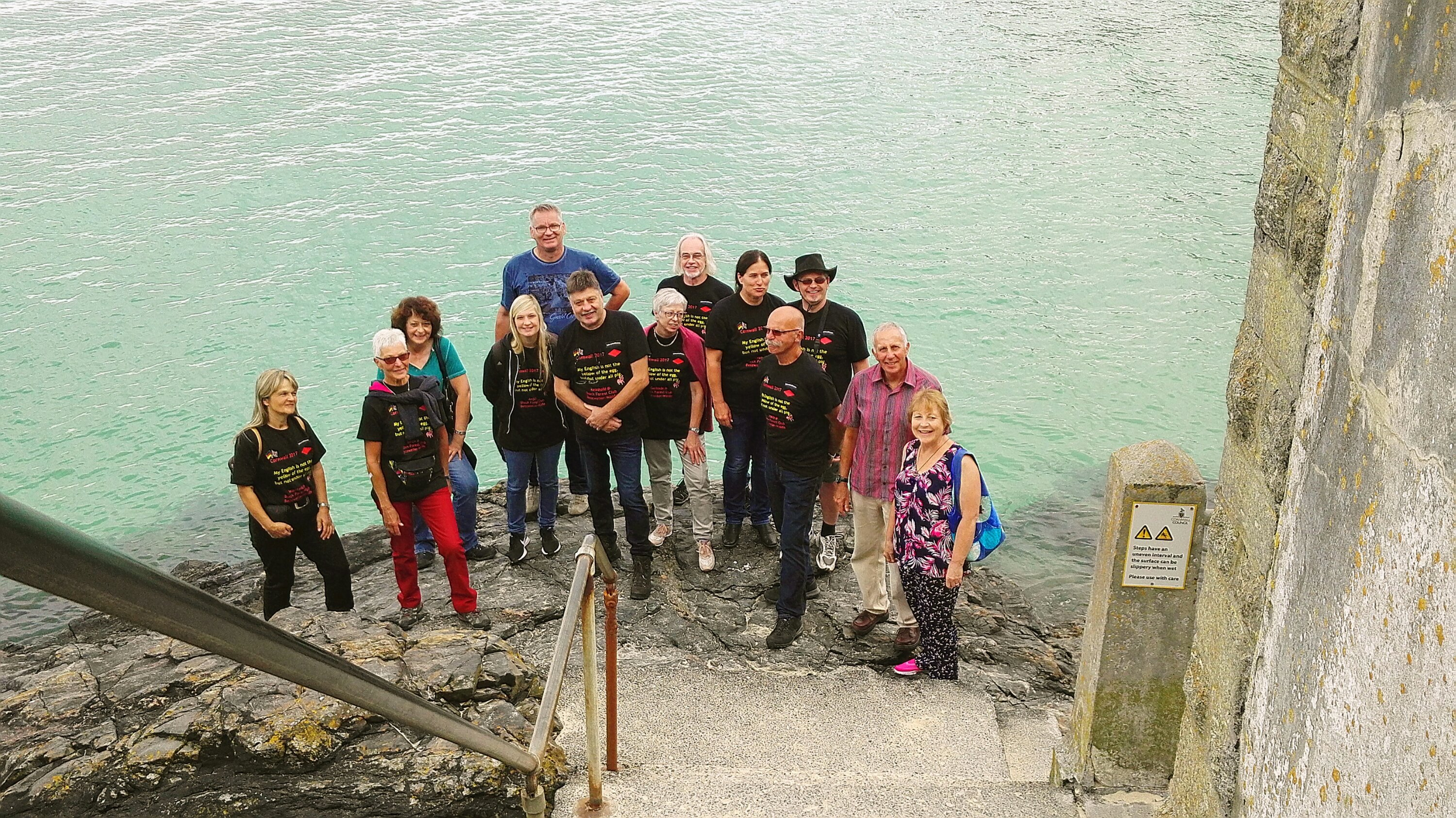 1. Gruppenbild in St. Ives