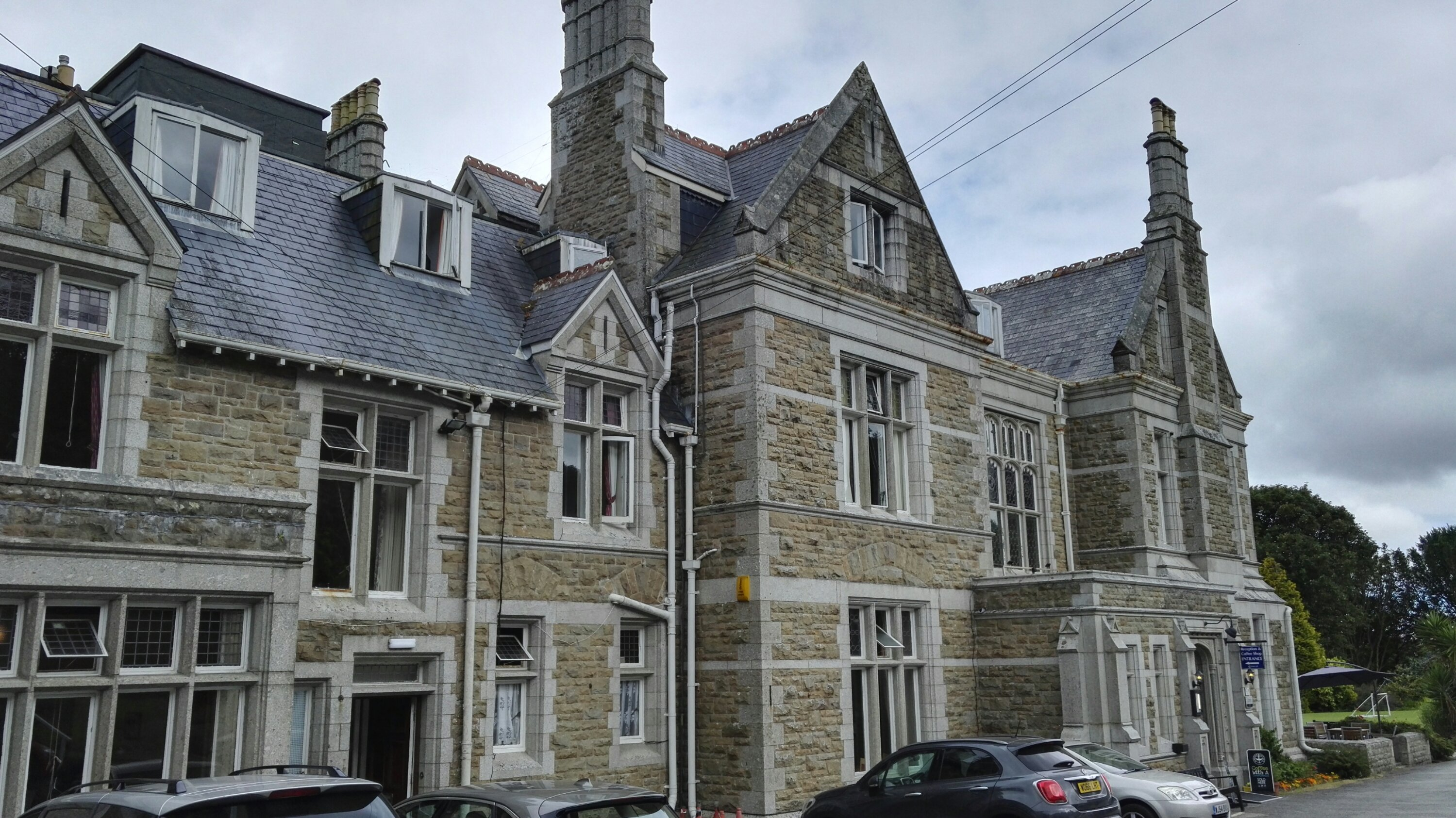 Unser Hotel Treloyhan Manor in St. Ives.