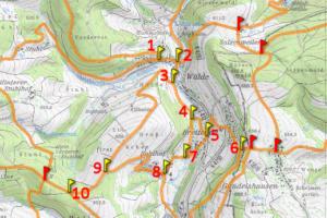 Bereich Wälde und Breitenau