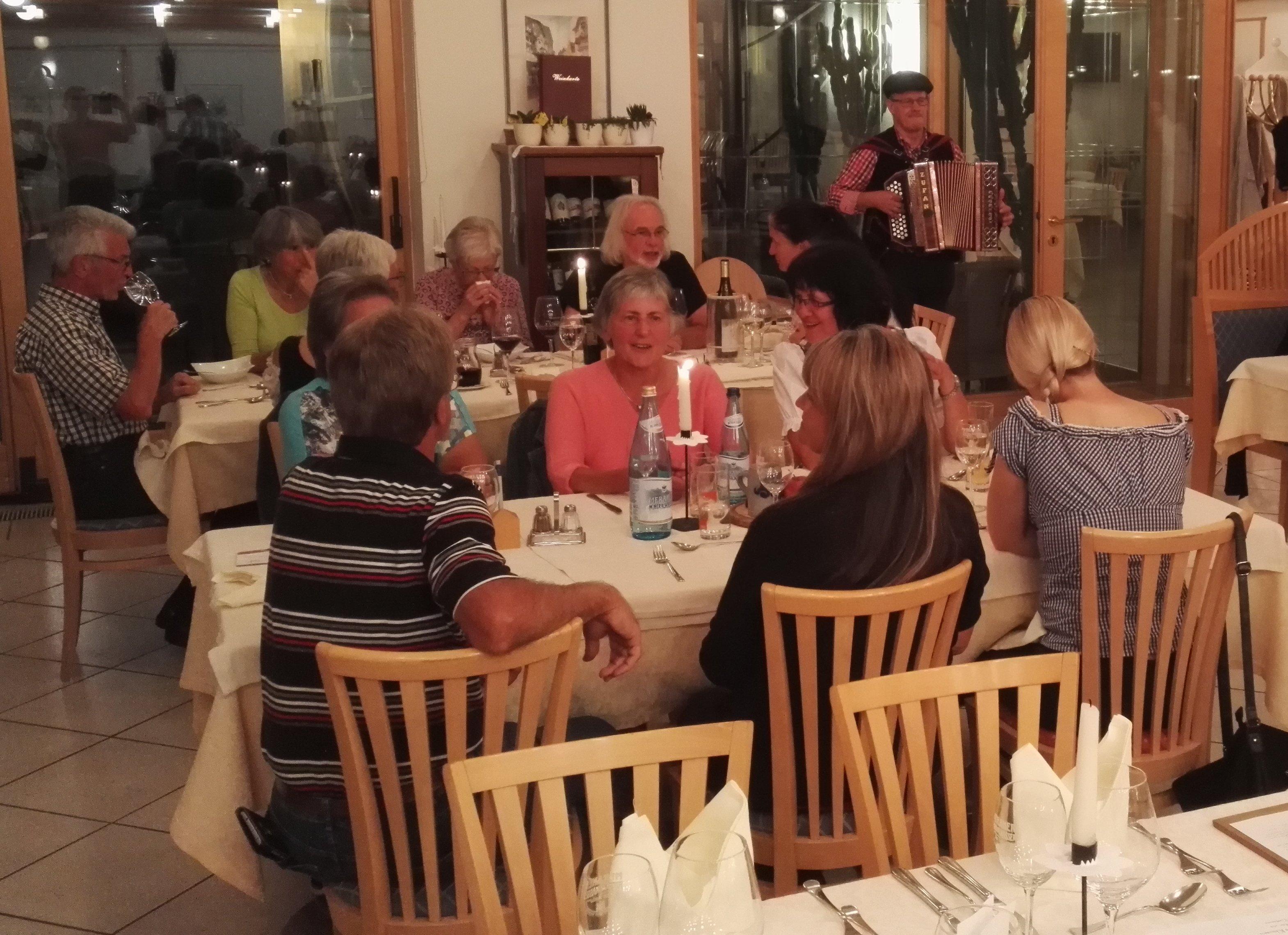 Törggelen-Abend im Hotel Rierhof